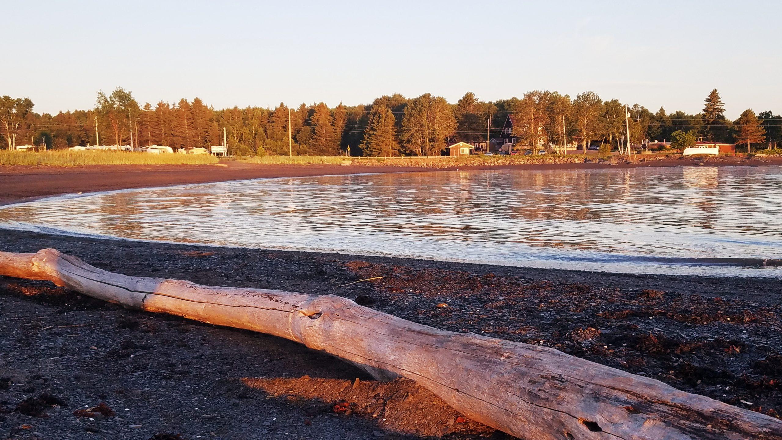 plage chalets et camping du ruisseau rouge isle-aux-coudres