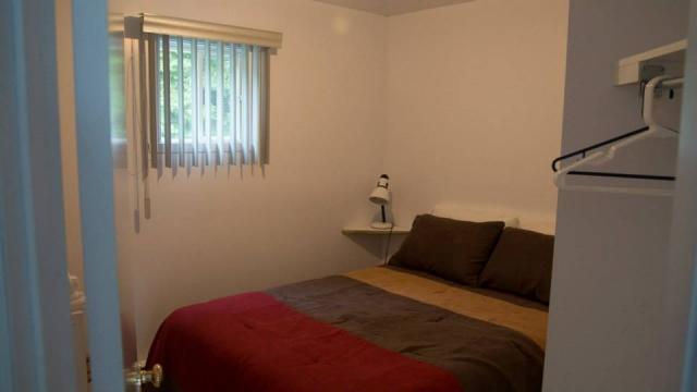 chambre à coucher chalets et camping du ruisseau rouge