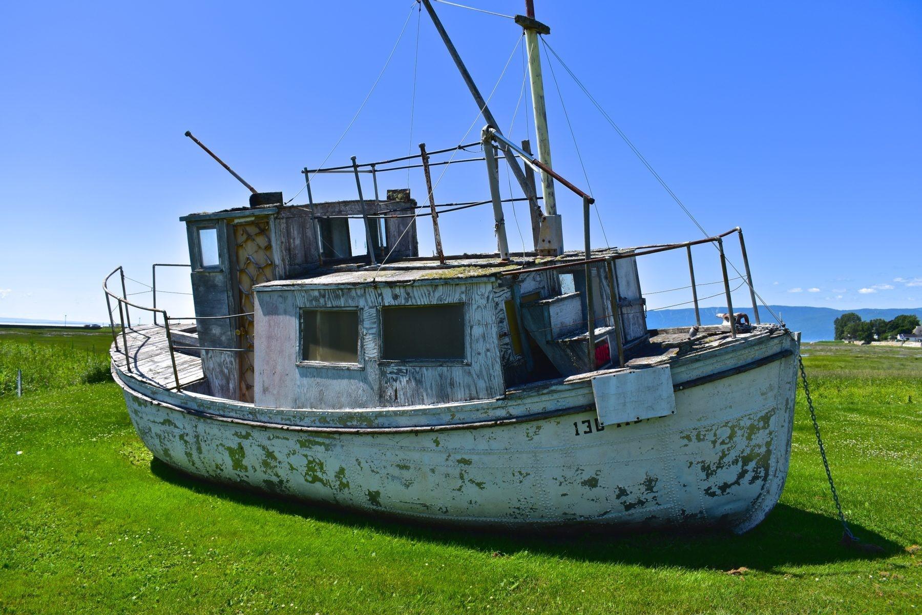 paysage bateau isle-aux-coudres
