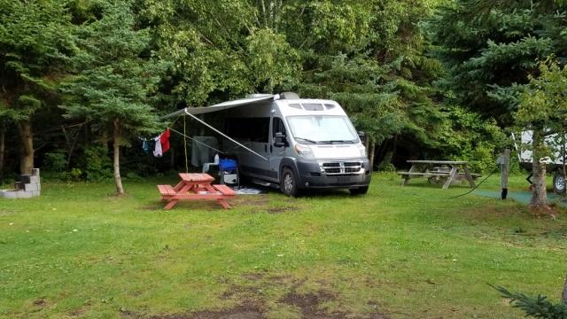 camping charlevoix vue fleuve