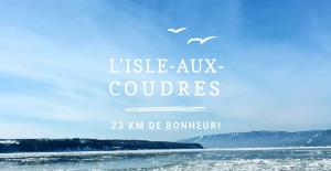 Tourisme Isle-aux-Coudres Charlevoix